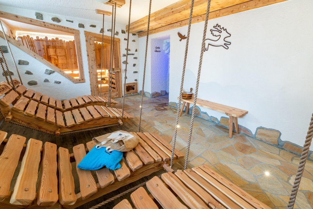 Centro benessere e relax dell'hotel Arcangelo